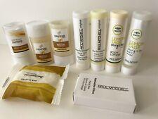 PAUL MITCHELL Travel Lot~Tea Tree Lemon Sage BODY WASH&LOTION/Shampoo/Facial Bar