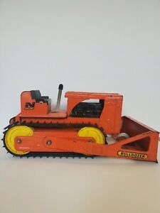 Nylint Bulldozer #4200 1960's With Towing Package Orange