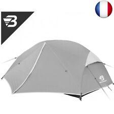 Bessport Tente de Camping 2-3 Personnes, Ultra-Légère, Facile  (3 person grey)