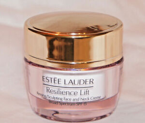 Estee Lauder Resilience Lift firming/sculpting SPF 15 face & neck creme .5 oz 💛