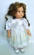 Gotz Doll Florence New Brown Eyes Soft Body Signed Numbered West Germany