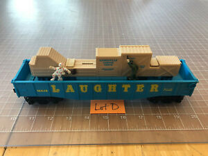 Lionel O Train SCARCE 16628 LAUGHTER Cop & Hobo Clown Operating CIRCUS Car LOT D