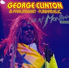 George Clinton, Clin - Live at Montreux 2004 [New CD] Italy -