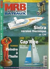MODELE REDUIT DE BATEAU N°483 PEINDRE A L'HUILE / SINTRA VERSION THERMIQUE T2M