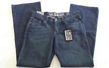 NEW YORK & CO Womens 10 Blue Jeans Limited Edition Flare Leg Embellished NWT