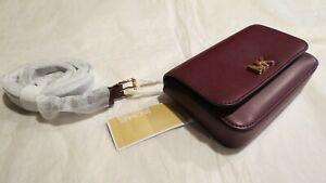 Michael Kors Mott Leather BELT BAG Oxblood (Wine) $108 Authentic New NWT