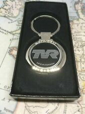 Chrome Keyring With Printed TVR Logo Chimera Griffith Speed 6