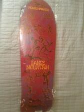 Powell Peralta Lance Mountain Future Primitive Reissue Skateboard Deck  New -Red