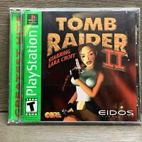 Tomb Raider II 2  GH Greatest Hits (Sony Playstation 1 PS1)