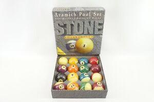 Aramith Granite Stone Collection Belgian Billiard Pool Ball Set
