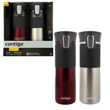 2 x Contigo Vaccum Insulated Autoseal  Coffee Travel Mug - 473ml R