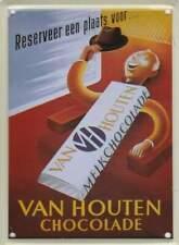 Metalen Kaart/Tin-Card/Blechkarte - Van Houten chocolade (021)