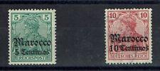 STUNt3203.Deutsche Post in Marocco.Mi.Nr.20 (NB:Reichspost/Eng.Hoofdletter M)+23