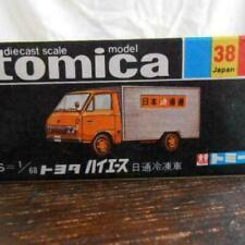 Tomy Tomica Toyota Hiace 1/68 Escala Nittsu Nevera Camión No.38 Japón Hecho