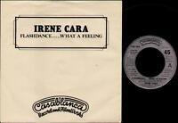 "IRENE CARA Flashdance  7"" Ps, B/W Love Theme From Flashdance Instrumental By Hel"