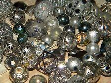 NEW RANDOMLY Picked 25/pc Silver/Gray Jesse James mixed beads lot loose Beads