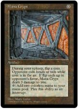 PROMO Mana Crypt (Book) - NM Unplayed - MTG Vintage Commander Promotional