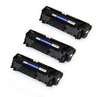 3PK NON-OEM for HP Q2612A Toner Cartridge 1010/1012/1015/1018/1020/3052/3050