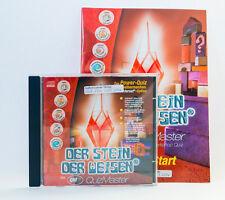 Der Stein der Weisen mit Quiz Master CD-ROM Computerspiel PC Spiel