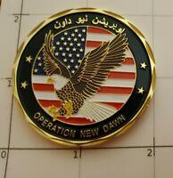 Operation New Dawn Coin Iraqi Freedom Advise and Assist Brigade Baghdad Iraq War