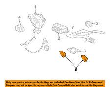 GM OEM Supplemental Restraint System-Impact Sensor 13578678