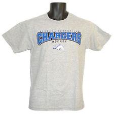 Alabama Huntsville Chargers Hockey CI Sport Arch Gray T-Shirt - Medium