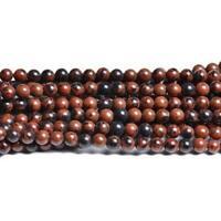 Mahogany Obsidian Round Beads 6mm Brown/Black 60+ Pcs Gemstones Jewellery Making