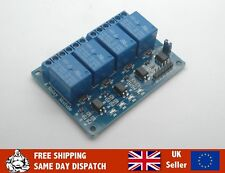 4 Channel Relay Board Module with optocoupler for Arduino Raspberry PI etc