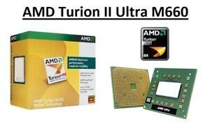 AMD Turion II Ultra M660 Dual Core Processor 2.7 GHz, Socket S1, 35W CPU
