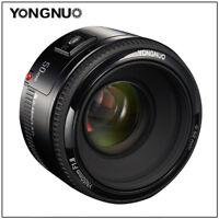 YONGNUO EF YN 50mm F/1.8 Standard Prime Lens AF MF for Canon 1300D 1200D 1100D
