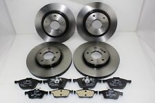 Original Brake Discs + Brake Pads Front+Rear Ford Focus - C - Max 59991100