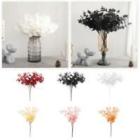 20 Heads Artificial Eucalyptus Flower Fake Plants Wedding Party Home Decors