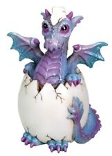 "PURPLE BINDY DRAGON HATCHLING FIGURINE STATUE MYTHICAL  - NEW 3.5"" FREE SHIPPING"