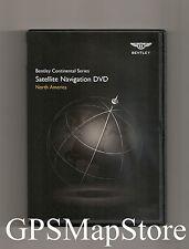 2011 to 2015 Bentley Mulsanne Sedan Navigation DVD Map U.S Canada Version 3.1