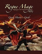 NEW The Rogue Mage RPG Game Master's Guide by Christina Stiles