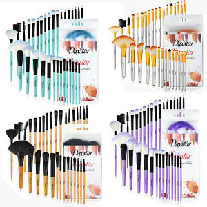 32Pcs Makeup Brush Powder Foundation Eyebrow Blush Brushes Daxstar Style New UK