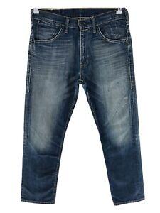 Levi's 504 Dark Blue Regular Straight Fit Jeans Size W32 L32