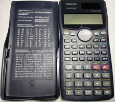 Calculator College Scientific Engineering Battery/Solar Power School OS-991MS