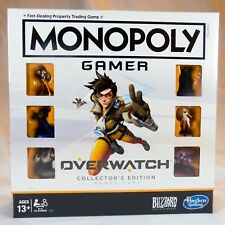 Monopoly Gamer: Overwatch Collector's Edition Board Game with different card