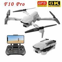 GPS Drones 5G WiFi FPV Foldable Drone Pro 4K HD Dual Camera RC Quadcopter Selfie