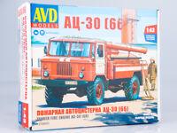 Kit model truck 1:43 GAZ-66 AC-30 Fire tanker
