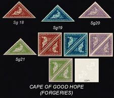 Cabo de Buena Esperanza Sg18, 19,20,21 (falsificaciones)