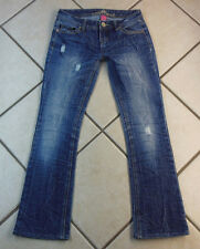 "ALMOST FAMOUS ""BOOT CUT"" WOMEN'S PANTS DENIM BLUE JEANS. SIZE 1 INSEAM 29"