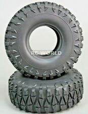 RC 1/10 Rubber TRUCK Tires SUPER CLAWS 1.9 ROCK CRAWLER Wheels 115mm W/ Foam-2PC