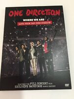 BRAND NEW One Direction 'Where We Are' Live From San Siro Stadium (DVD, 2014)