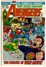 AVENGERS #98 8.5 WHITE PAGES BRONZE AGE