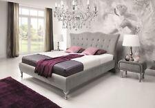 Bett Chesterfield Polsterbett Luxus Doppel Schlafzimmer Designbett Betten Neu
