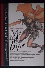 "JAPAN Norihiro Yagi: Claymore Illustrations ""Memorabilia"" (Art Book)"