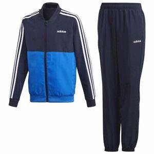 Adidas Boys 3S WovenSuit Jn04 FM6562 Tracksuit Navy/Blue/White L