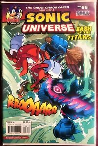 SONIC UNIVERSE Comic #66 Sept 2014 GREAT CHAOS CAPER 4 of 4 Bagged & Boarded VF